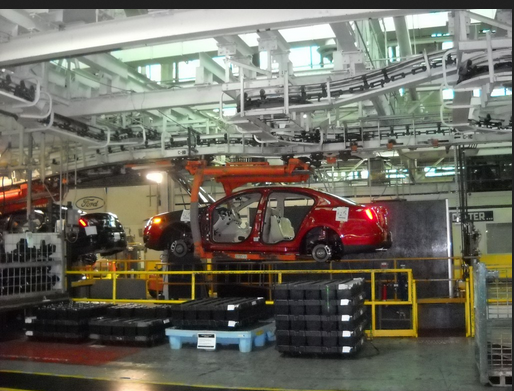 ford motor chicago assembly line