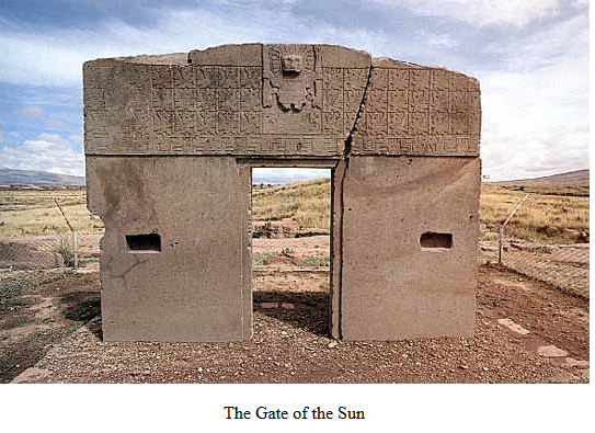inca gate of the sun
